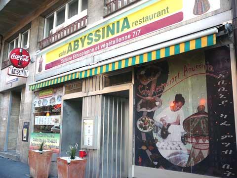 Restaurant Abyssinia, Lausanne
