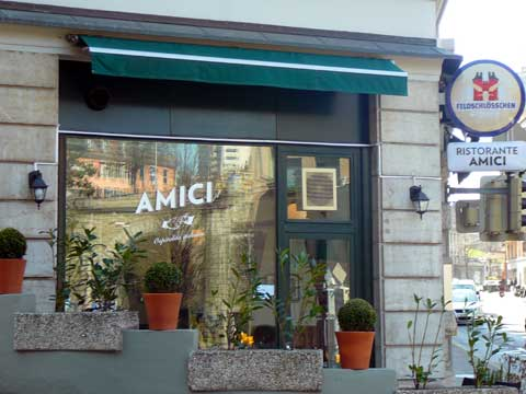Restaurant Amici, Lausanne