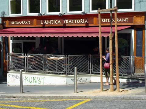 Restaurant Antica Trattoria, Lausanne