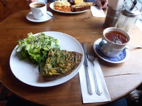 Restaurant le Blackbird Café, Lausanne