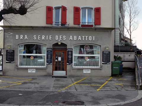 Brasserie des Abattoirs, Lausanne