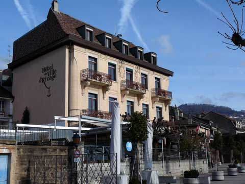 Restaurant du Rivage, Lutry