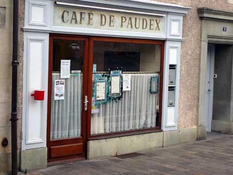 Café de Paudex - Paudex